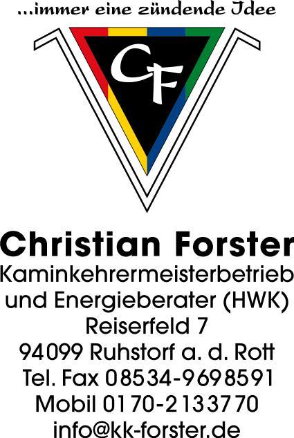 Forster Kaminkehrermeister und Energieberater