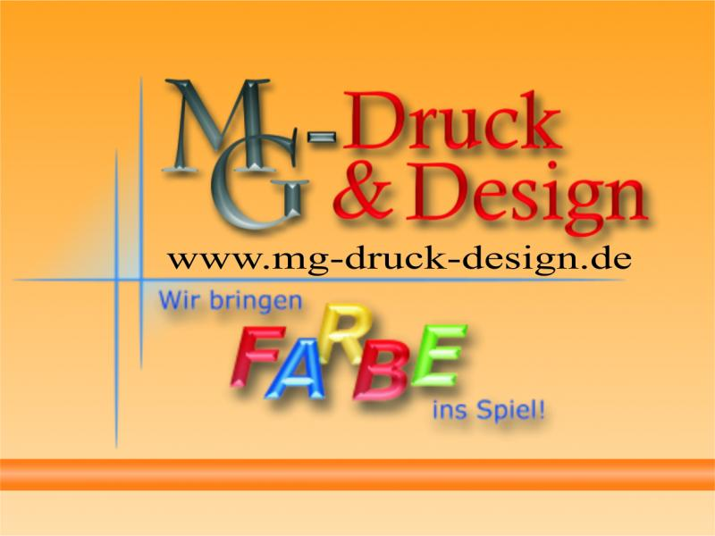 MG-Druck und Design